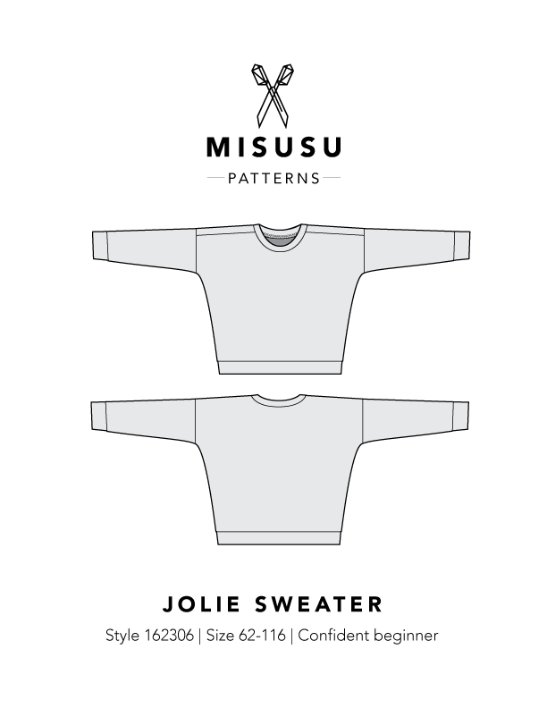 Jolie Sweater PDF Sewing Pattern