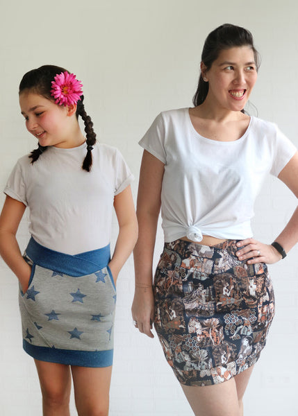 BUNDLE - Doris Kids & Adult Skirt PDF Sewing Pattern
