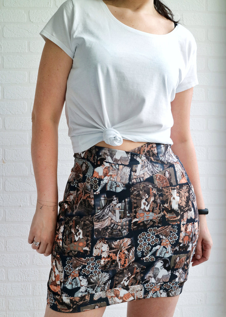 Doris Adult Skirt PDF Sewing Pattern