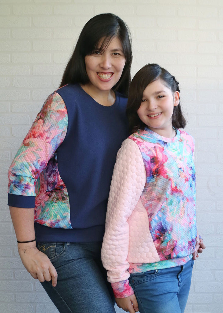 BUNDLE - Dia Women & Kids Sweater & Tunic PDF Sewing Pattern Bundle