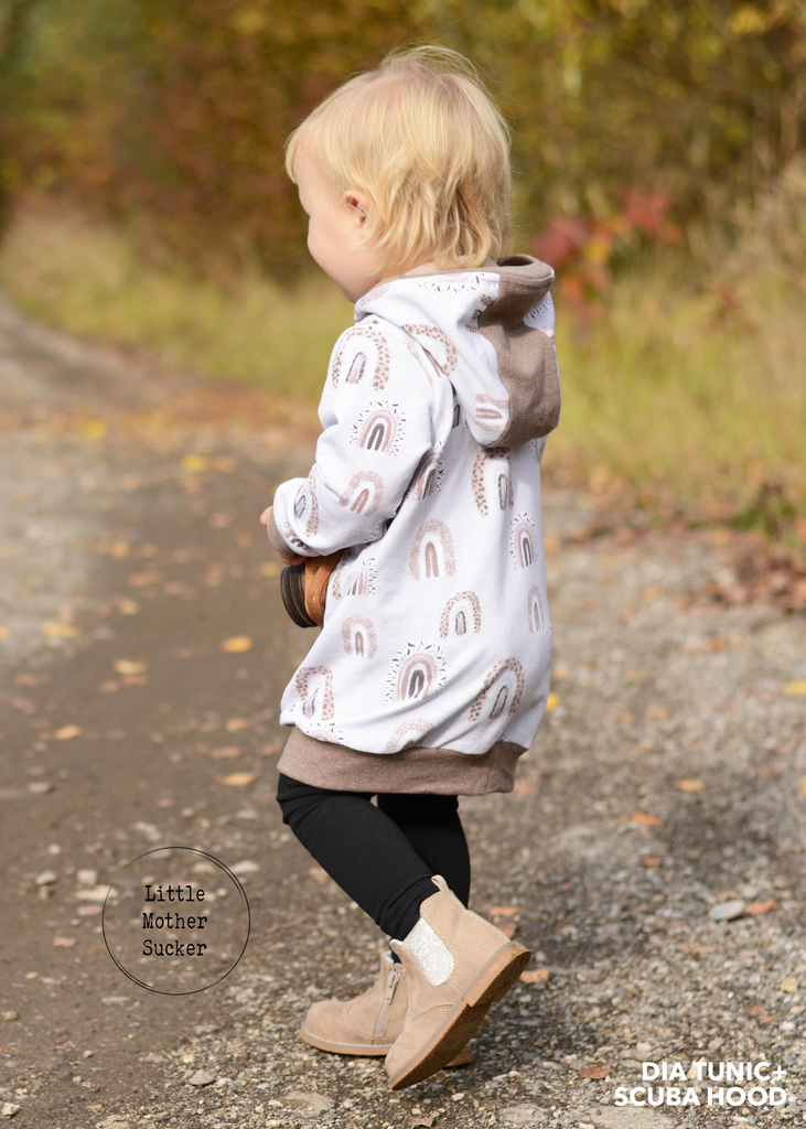 BUNDLE - Dia Kids Sweater & Shuffle Add On PDF Sewing Pattern Bundle