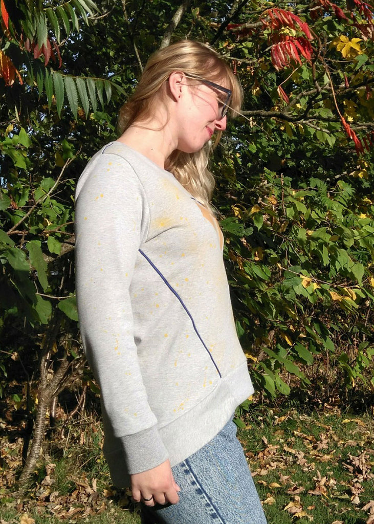 Dia Women Sweater & Tunic PDF Sewing Pattern
