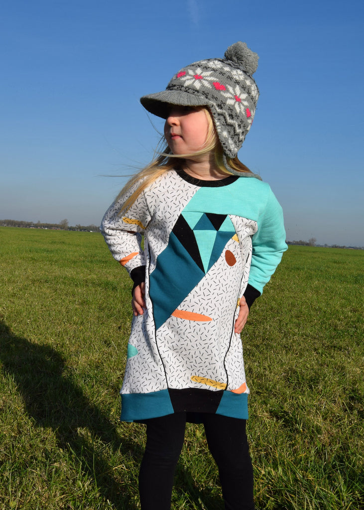 Dia Kids Sweater & Tunic PDF Sewing Pattern
