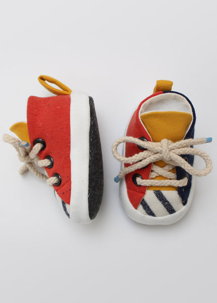 Sneaker Baby Booties PDF Sewing Pattern