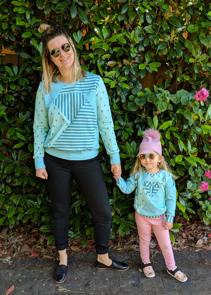 BUNDLE - Dia Ladies & Kids Sweater & Tunic PDF Sewing Pattern Bundle