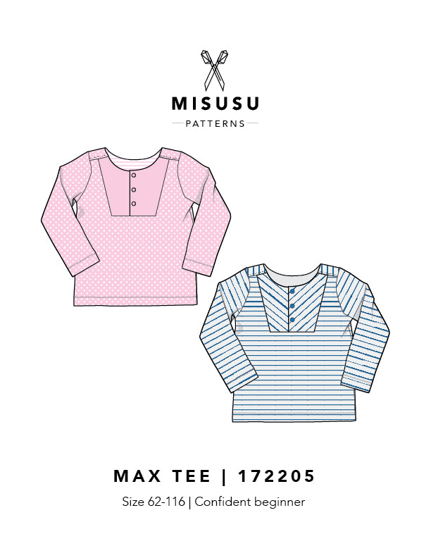 Max Tee PDF Sewing Pattern