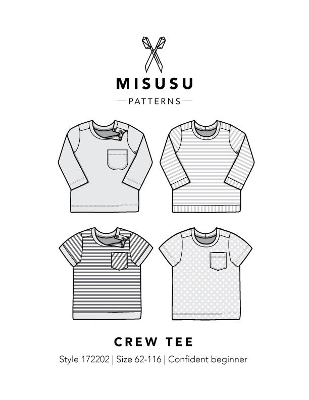 Crew Tee PDF Sewing Pattern