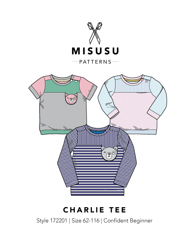 Charlie Tee PDF Sewing Pattern