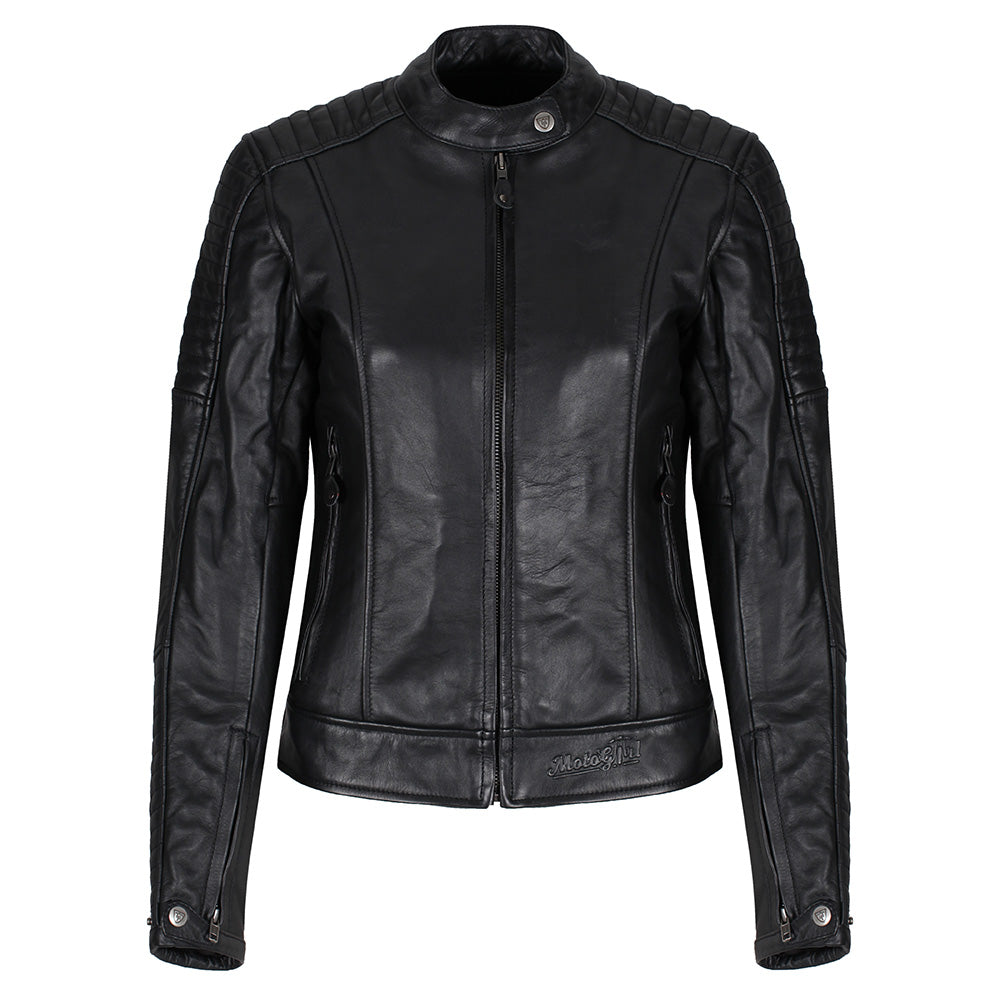 Valerie Black Leather Jacket