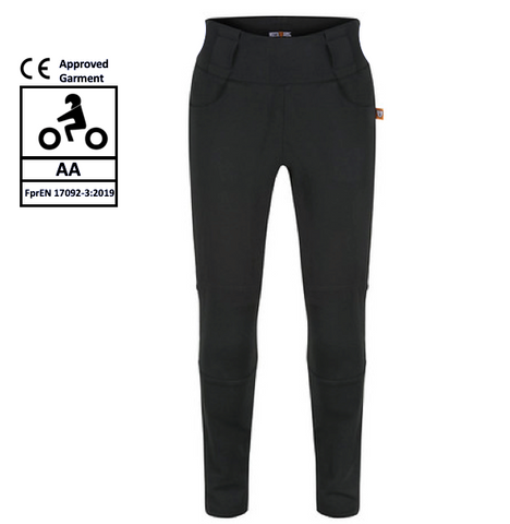 MotoGirl Leggings - Plain Knee