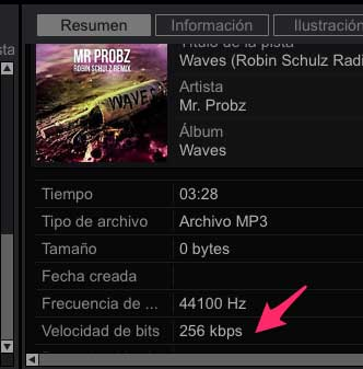 Mp3 de Pulselocker a 256 kbps