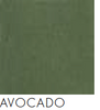 Bach Pinboard Acoustic Ceiling Panel Wrap Fabric Avocado