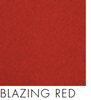 Bach Pinboard Acoustic Ceiling Panel Wrap Fabric Blazing Red