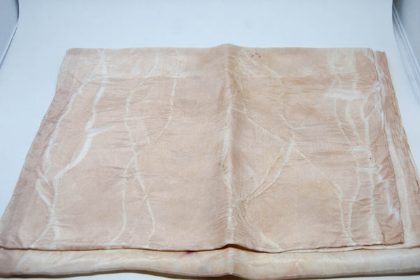 Silk Scarf - Bark, Gumnut and Wattleseed