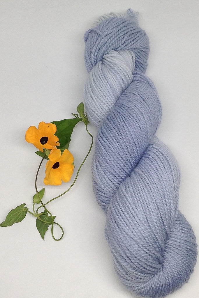 Black Eyed Susan vine dyed yarn