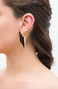 Héctor Earrings Gold