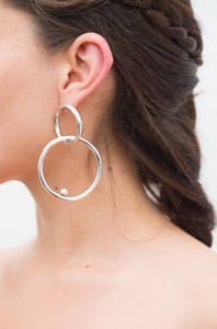 Rodas Earrings Silver