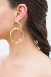 Rodas Earrings Gold