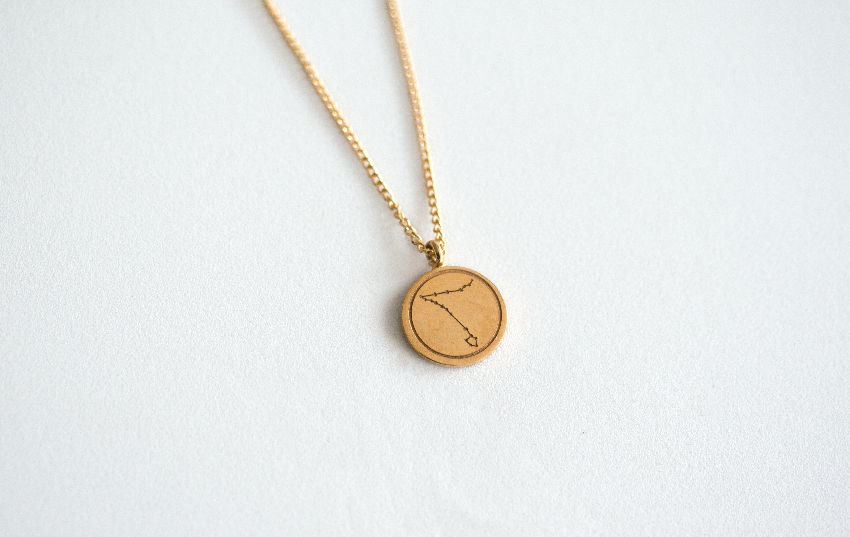 Pisces Gold Plated Silver