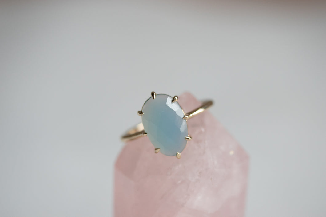 Mare Blue Agate Ring