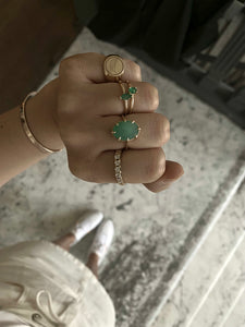 Julia Emerald Ring