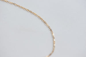 Selena Necklace 14k