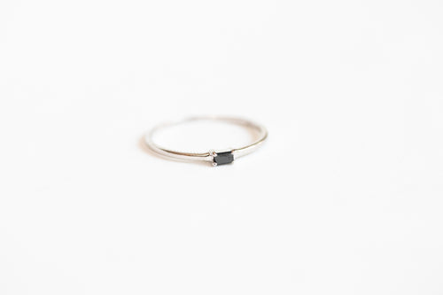 Andromeda Black Diamond Ring 14k