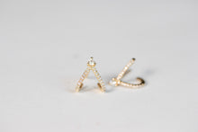 Claw Diamonds Earrings 14K