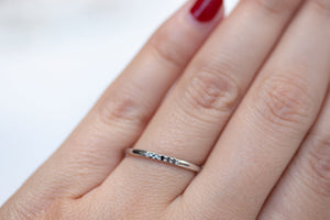 Aglaia Ring Black Diamonds
