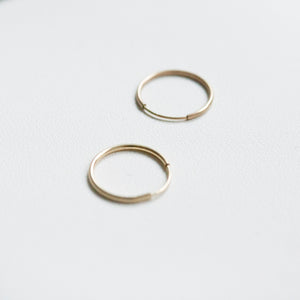 Gold Mini Hoop (sold per piece)