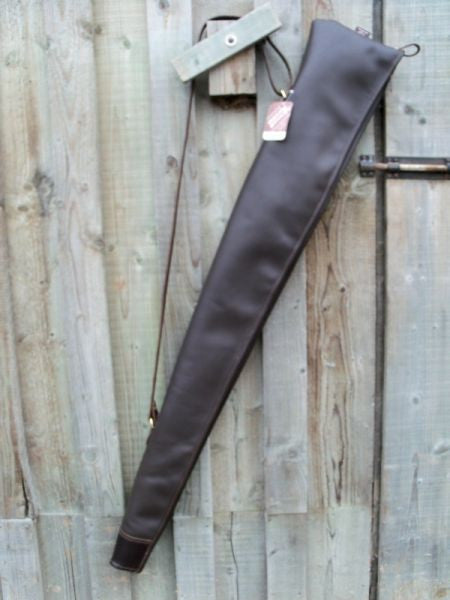 Leather Gun Slip Welted Stock End Two Colour Options
