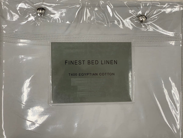 400 Thread Egyptian Cotton Flat Sheets
