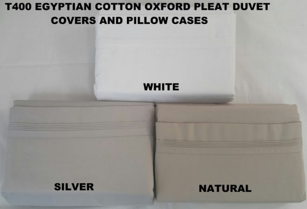 400 Thread Egyptian Cotton Duvet Cover Set
