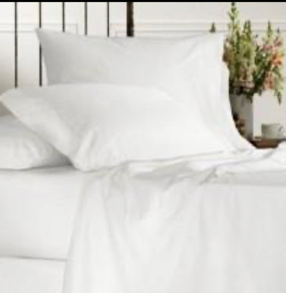 600 Thread Egyptian Cotton Flat Sheets