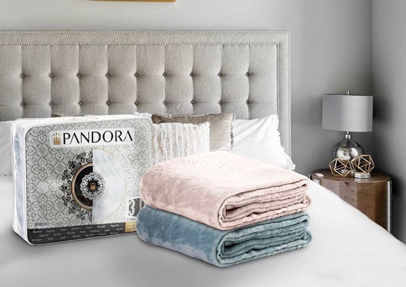 Double/Queen Pandora Mink Queen blanket