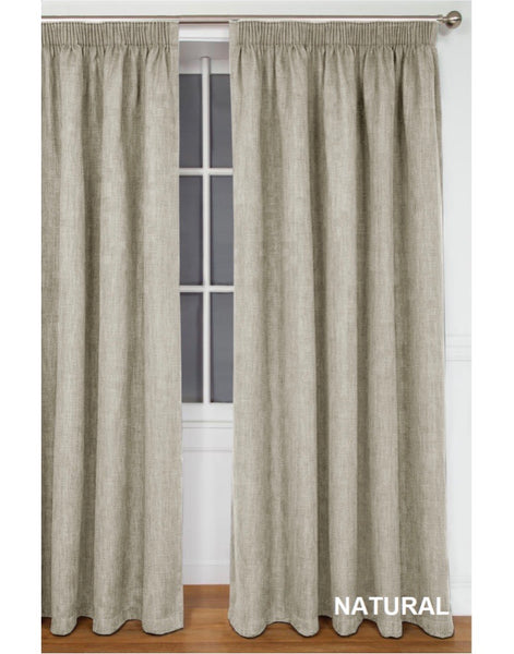 Amalfi Self Lined Curtains