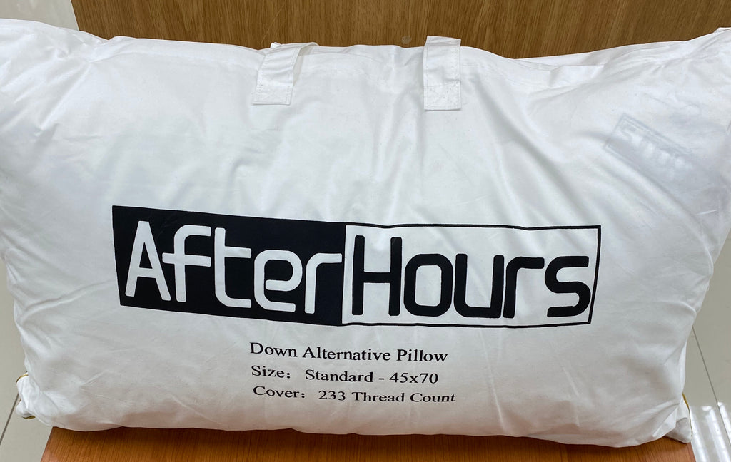 After Hours Synthetic Down Pillows