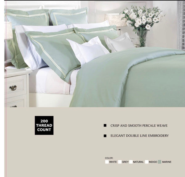 200 Thread Double Satin Stitch Duvet Cover