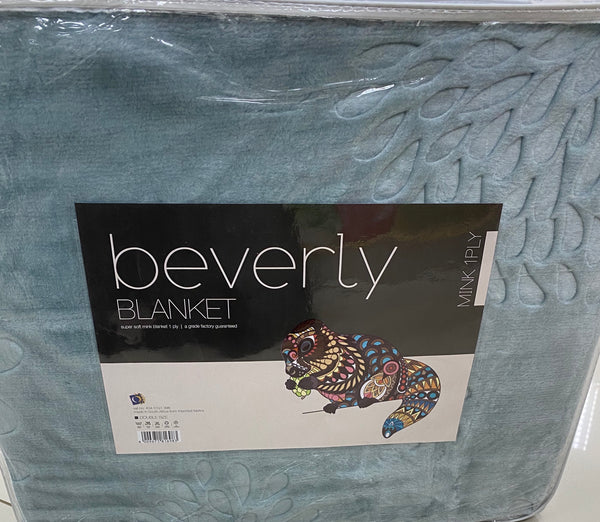 Double Beverly Plain Blanket