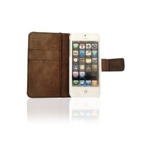 Bear Motion (TM) Luxury 100% Genuine Top Lambskin Leather Case for iPhone 5