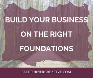 Build your business on the right foundations