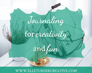 Why journaling for creativity and fun?