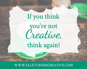 If you think you're not creative, this is for you