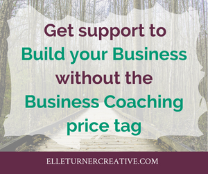 Let's get you out of your own way (without it costing a business coaching price tag)