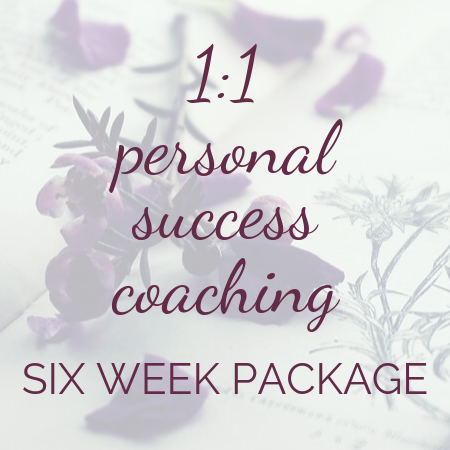 Elle Turner Creative | Six-week personal success coaching package for Clarity, Mindset and Action