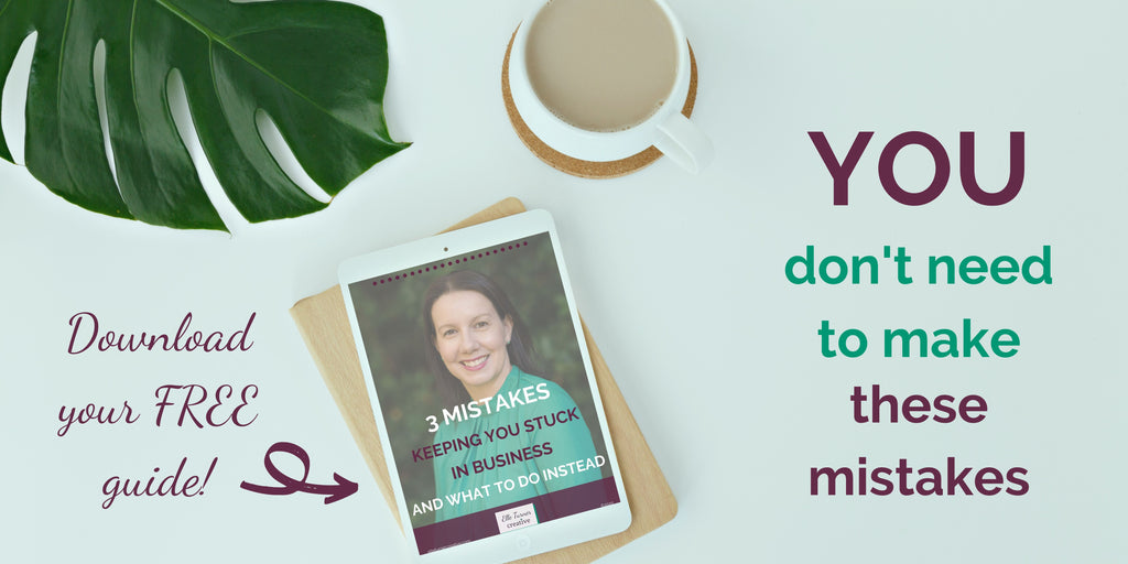 Feel more accomplished & confident in your business. Click through & grab a copy of this free guide | Elle Turner Creative