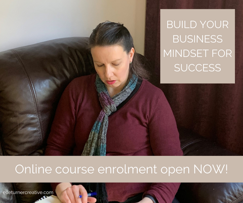 Build Your Business Mindset for Success is an online course from Elle Turner Creative that will teach you how to use the Success Journaling framework to gain the clarity and cultivate the supportive growth mindset you need to take action in your business without the premium price tag of business coaching.