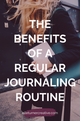 Develop a regular journaling habit and discover the benefits of journaling for personal growth.