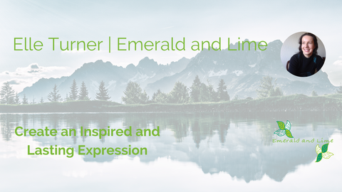 Emerald and Lime | Create and Inspired and Lasting Expression