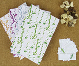 Emerald and Lime | Eco-friendly stationery | A5 perfect bound notebooks